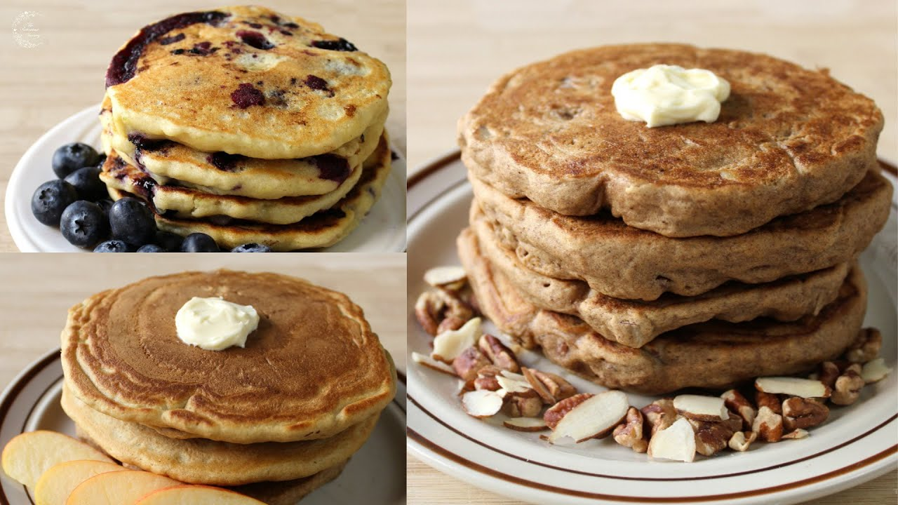 3 Easy Pancake Additions To Flavor Pancake Mix Or Homemade Pancake