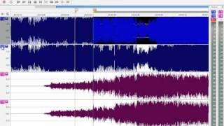 Cómo unir dos canciones con desvanecimiento | Sound Forge 10