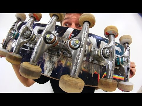 THE CENTIPEDE SKATEBOARD | STUPID SKATE EP 79