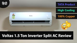 Voltas 1 5 Ton Inverter Split AC in Details Review 183V_CZTT 2020