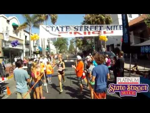 State Street Mile - Women's Elite Section - Santa Barbara, CA - 2014