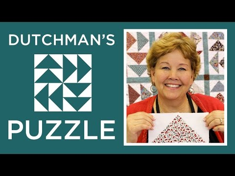 The Dutchman's Puzzle Quilt: Easy Quilting Tutorial with Jenny of Missouri Star Quilt Co