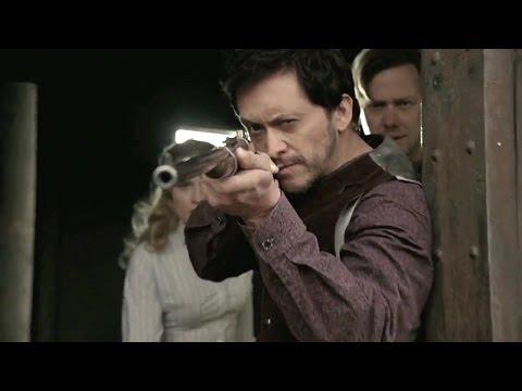 Westworld || Trompe L'Oeil || William, Dolores, and Lawrence Train ambush scene