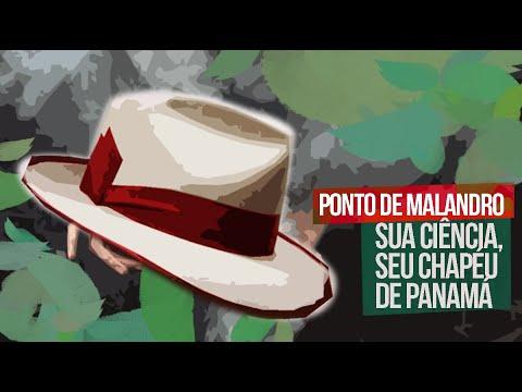 PONTO DE MALANDRO - (SUA CIÊNCIA, SEU CHAPÉU DE PANAMÁ)