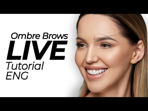 Ombre Brows Tutorial - FREE INTENSE COURSE