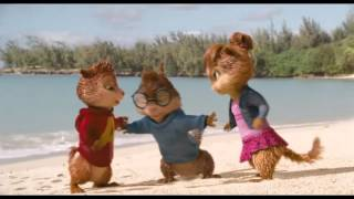 Бурундуки и Chipettes - Bad Romance Музыка Видео