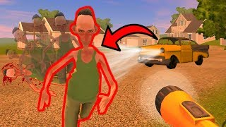 СОСЕДА СБИЛА МАШИНА! НО ОН ОЖИЛ - Angry Neighbor Gameplay