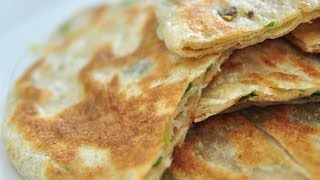 家常蔥油餅 Green Onion Pancakes
