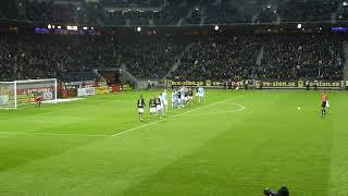 A.I.K. - Malmö FF 2018, Oct 29, Sebastian Larsson scores 1-1, 96 min