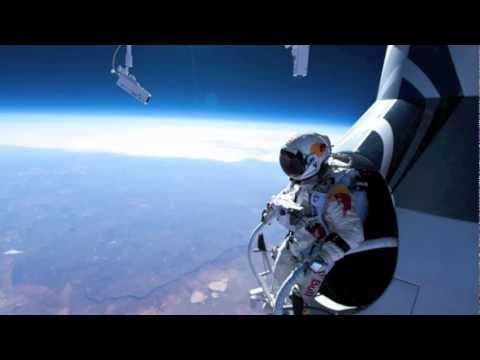 "RED BULL STRATOS FREEFALL JUMP ""Full Video"" (OCT. 14, 2012) HD"