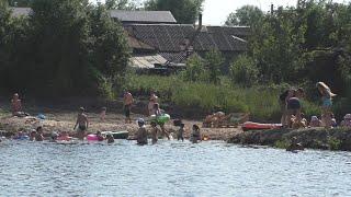Очистка деревенского пруда проблемы и сложности наших водоемов