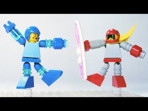 How To Build LEGO Mega Man & Proto Man