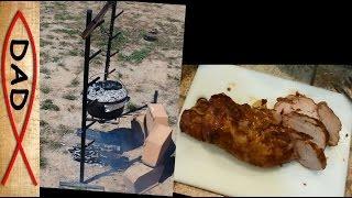 Easy Camping Recipes - Dutch Oven Pork Tenderloin