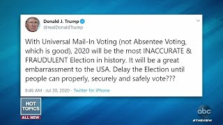 Trump Tweet Suggests Delaying Election | The View