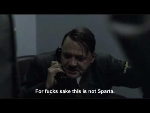 Hitler phones King Leonidas