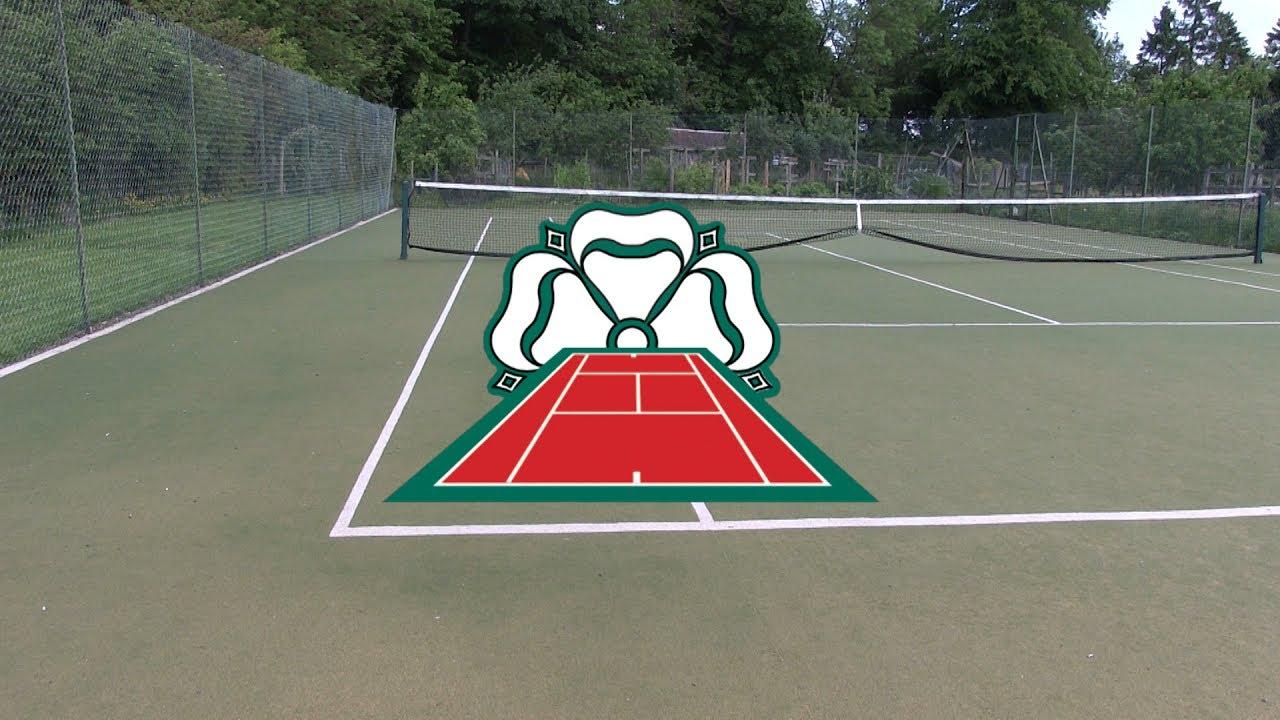 Laying An Artificial Grass Tennis Court Carpet Youtube