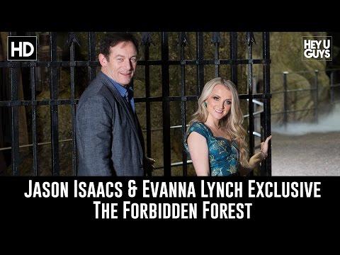 Jason Isaacs & Evanna Lynch Exclusive Interview - Forbidden Forest Reveal & Harry Potter Studio Tour
