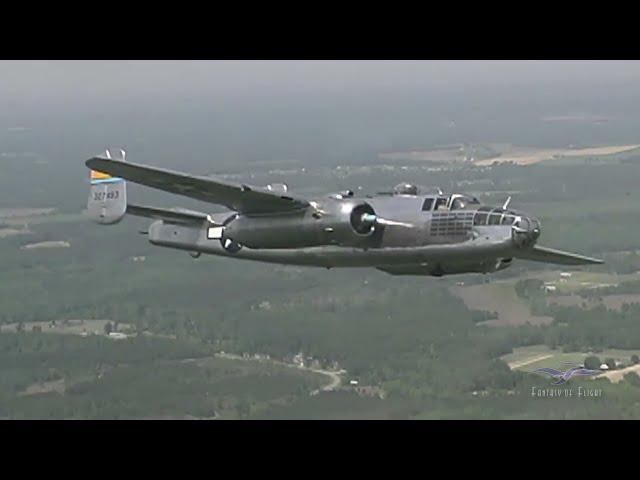 B-25 Apache Princess - Jay Moore Pilots a B-25 Again! - Part 2