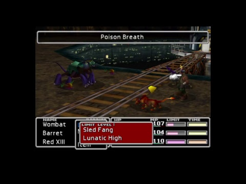 Bat plays FFVII- Going for one run platinum: Cargo ship and beyond