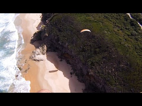 Paramotor Flying in Wilderness
