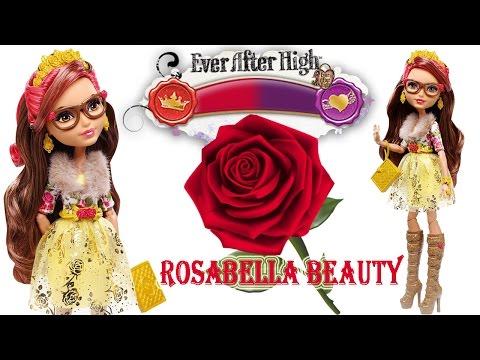 Розабелла Бьюти - дочь Красавицы и Чудовища Обзор куклы Эвер Афтер Хай Ever After High Review
