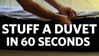 How to Stuff a Duvet Cover in 60 Seconds