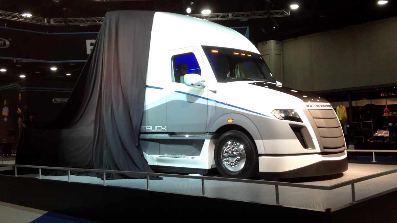 Freightliner SuperTruck Unveiling  YouTube