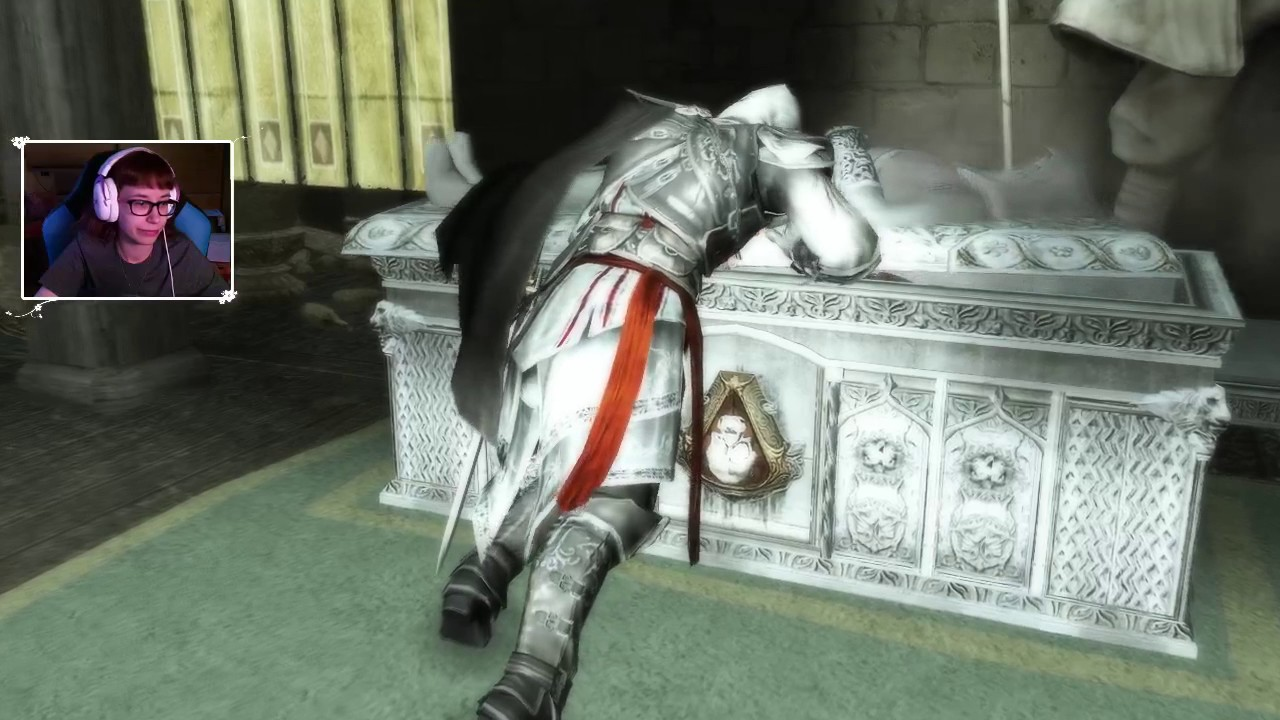 """[Archiwum] Live – Assassin's Creed II (6) – [2/3] – """"Grobowiec Wei Yu"""""""