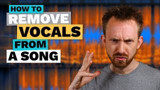 Download lagu How to Remove Vocals from a Song MP3
