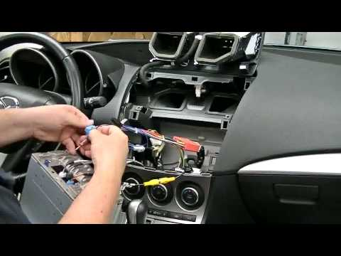 [SODI_2457]   S100 Mazda 3 Head unit Installation - YouTube | Wiring Diagram Smart S100 Series |  | YouTube