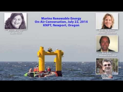 Radio Talk Show on Marine Renewable Energy