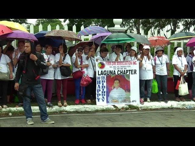 Protests hound 100th birth anniversary celebration of Ferdinand Marcos