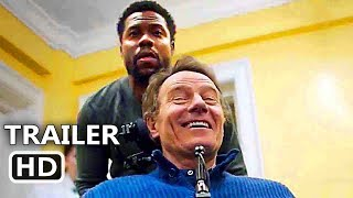 THE UPSIDE Official Trailer (NEW 2019) Kevin Hart, Bryan Cranston, ...