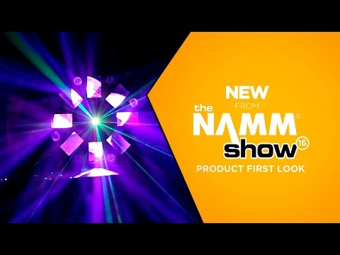 NAMM 2016 - American DJ Stinger II