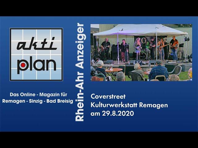 Coverstreet in der Kulturwerkstatt Remagen