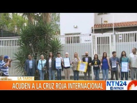Familiares de presos políticos venezolanos solicitaron ayuda a la Cruz Roja