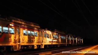 Rare!!! Jersey Avenue Station Ex-metroliner No. 9800 & SEPTA Silverliner V