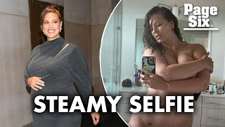 Ashley Graham receives praise after nude mirror selfie | Page Six Celebrity News