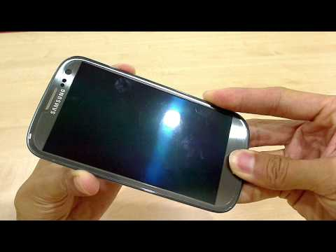 How to format/hard reset Samsung Galaxy S3 GT-i9300