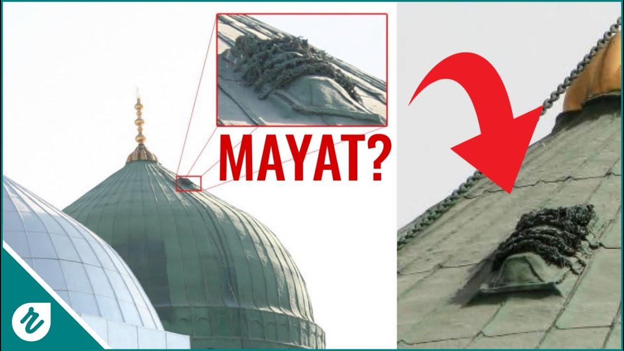 Ada Mayat Diatas Kubah Masjid Nabawi Misteri Kubah Hijau Nonton