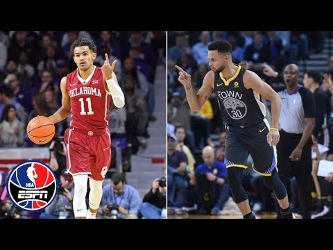 Can Trae Young follow in Steph Curry's footsteps?   NBA Countdown   ESPN