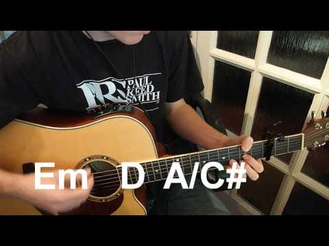 Your Song -- Ellie Goulding -- Guitar Lesson by Trys Mudford