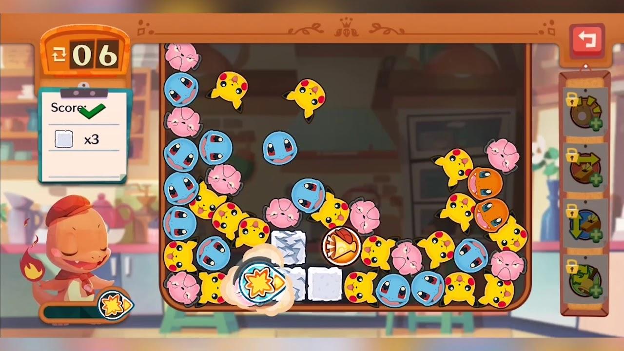 Pokemon Cafe Mix Gameplay - YouTube
