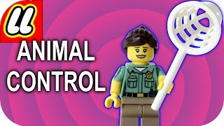 LEGO Animal Control Officer Minifigure CMF Series 15 With how to find guide.