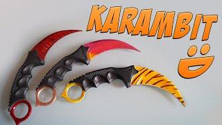 CS:GO Knife Painting: Karambit | Fade & Tiger Tooth
