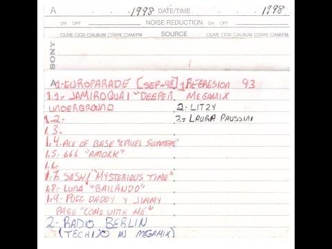 EUROPARADE 1998 Y RADIO BERLIN