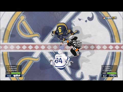 NHL 19 - Buffalo Sabres vs Toronto Maple Leafs - Gameplay (HD) [1080p60FPS]
