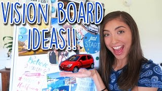 DIY Vision Board Ideas For Students