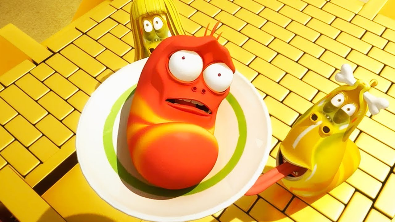 DINNER TIME - Larva | Crazy Cartoons | WildBrain Cartoons