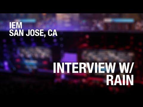 """I don't like calling"" Interview w/ rain of G2 at IEM San Jose @EZSkinz"